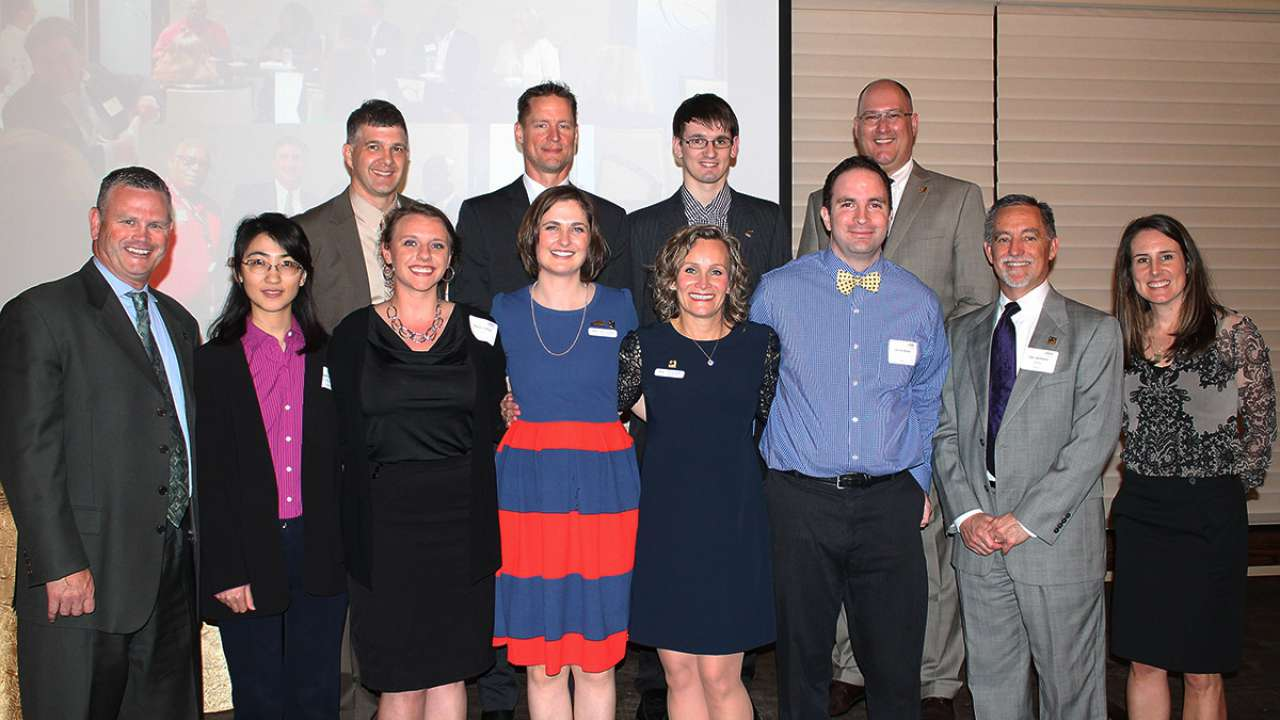 Henkhaus named Member of the Year by local WTS chapter