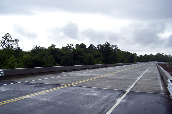 Load-posted bridge replacement program