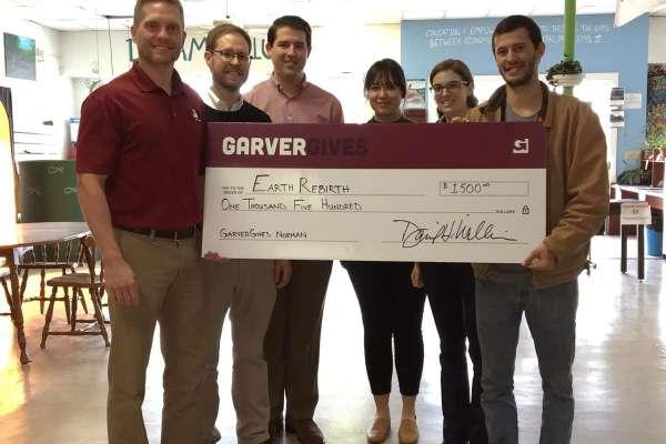Garvergives Donation Aids School Garden Program