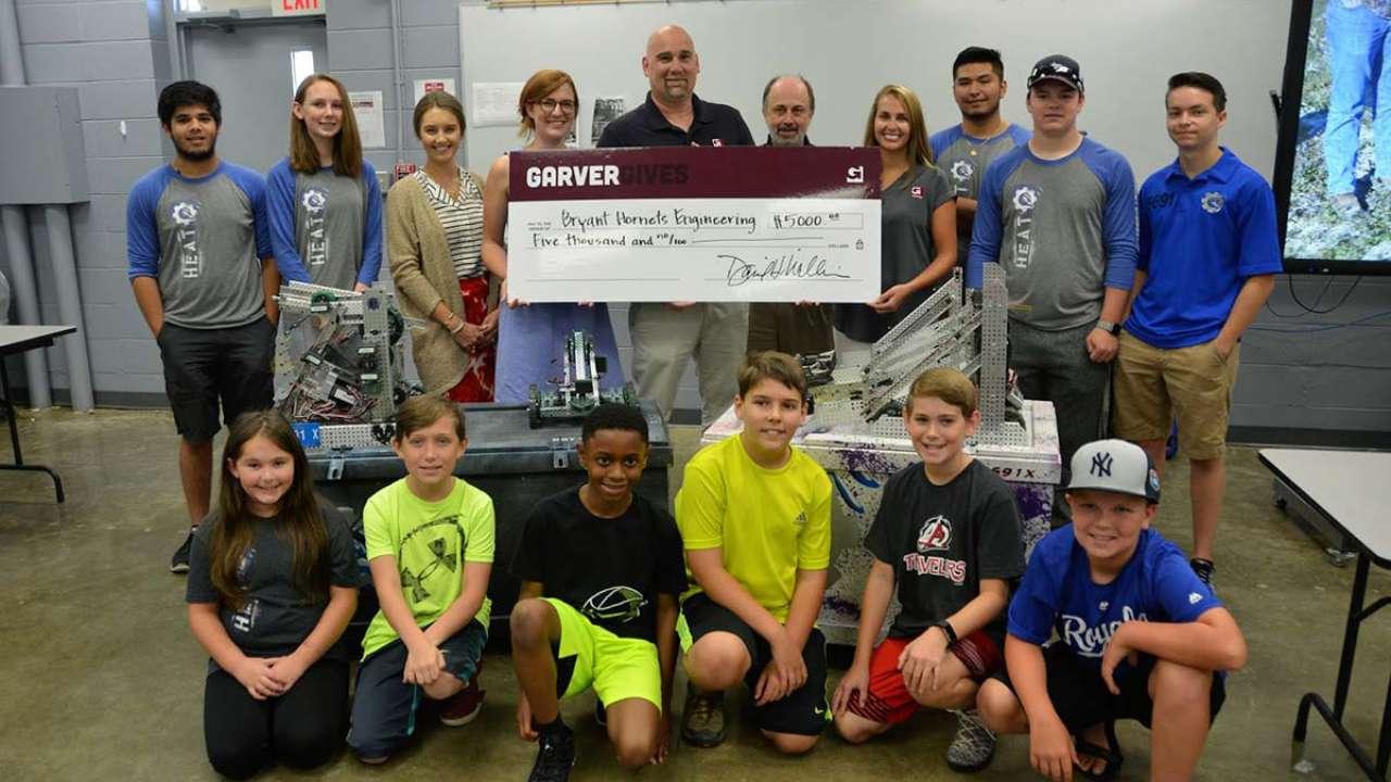 GarverGives contributes to local robotics camps