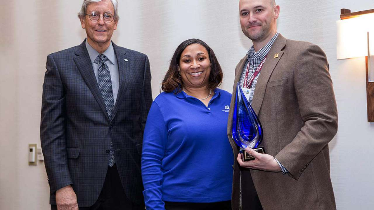 Garver's work with small businesses at BNA recognized