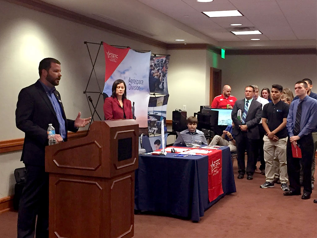 STEM students meet at Texas State Capitol