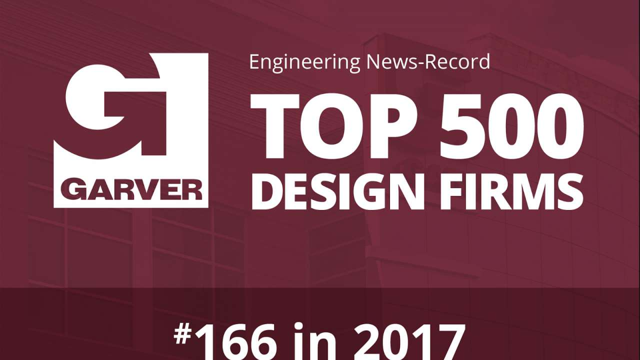 Garver up eight spots, now No. 166 on ENR Top 500