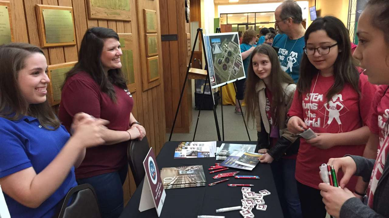 Garver employees pitch in at Girls of Promise conference