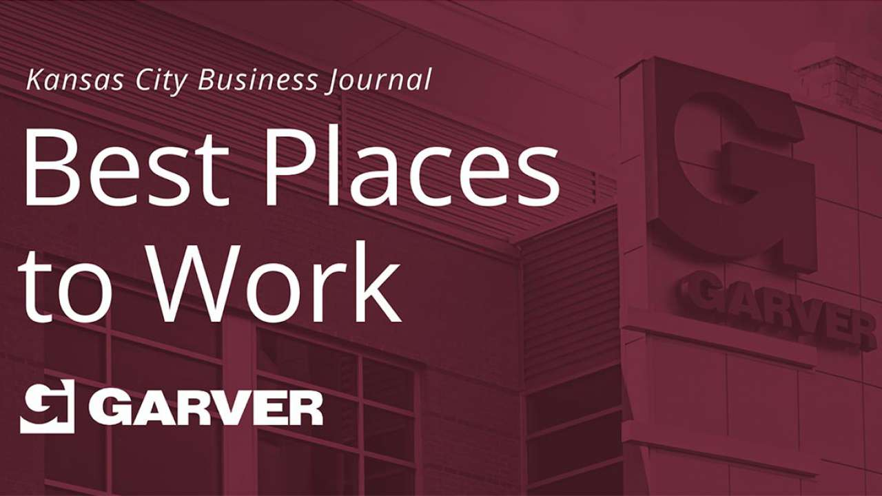 Kansas City Business Journal honors two Garver offices