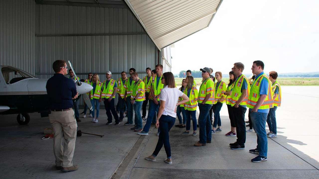 Garver Launch interns begin journey at Ignite