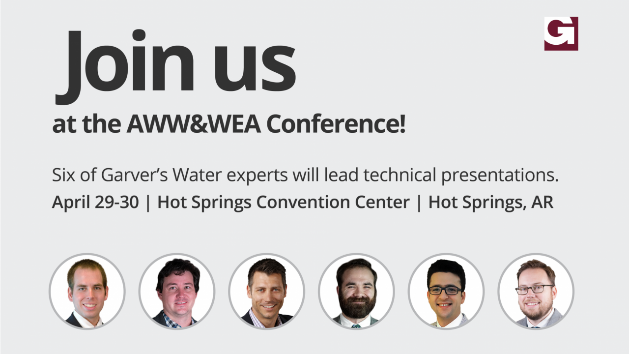Garver to present at AWW&WEA annual conference