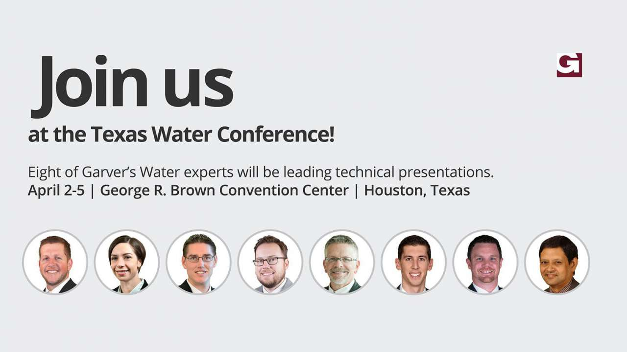 Garver to present at Texas Water Conference