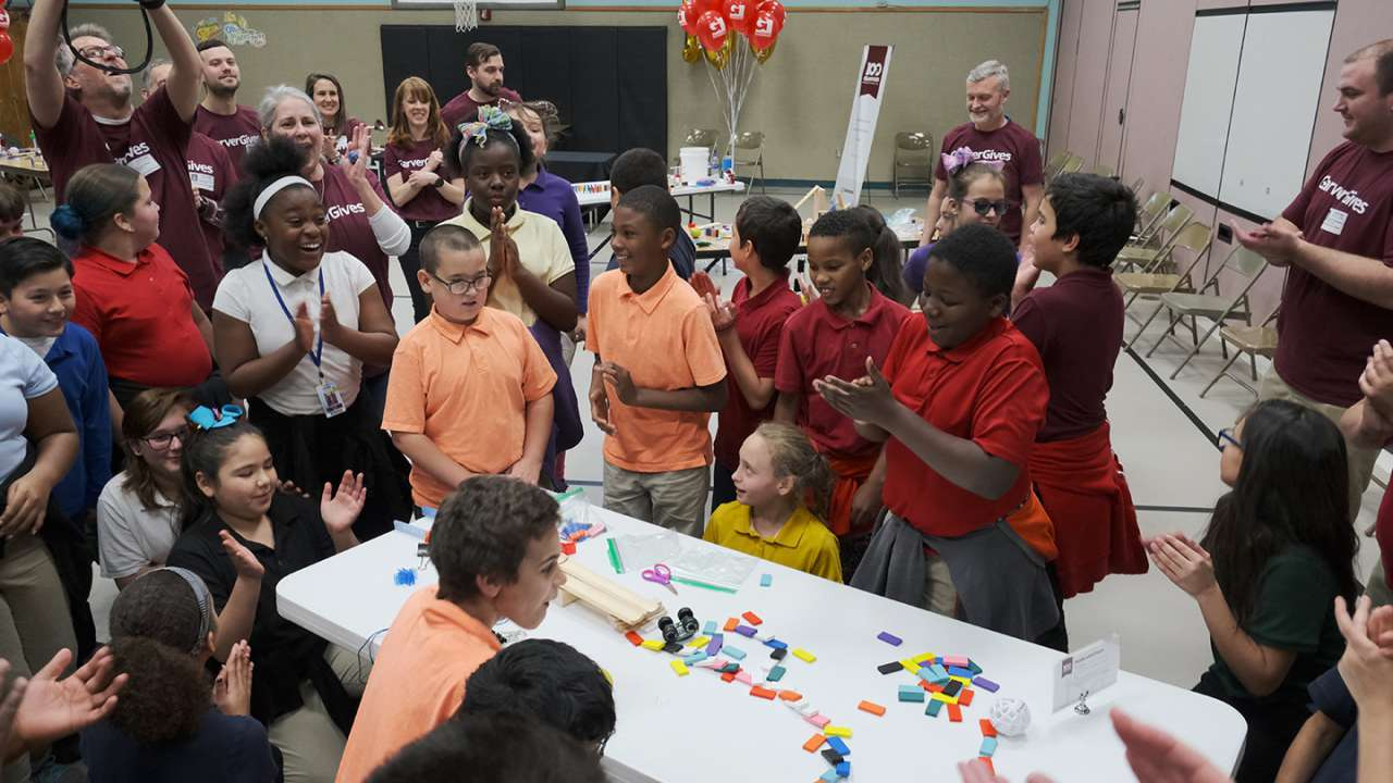 Garver teaming with 100 schools for Garver Chain Reaction Challenge