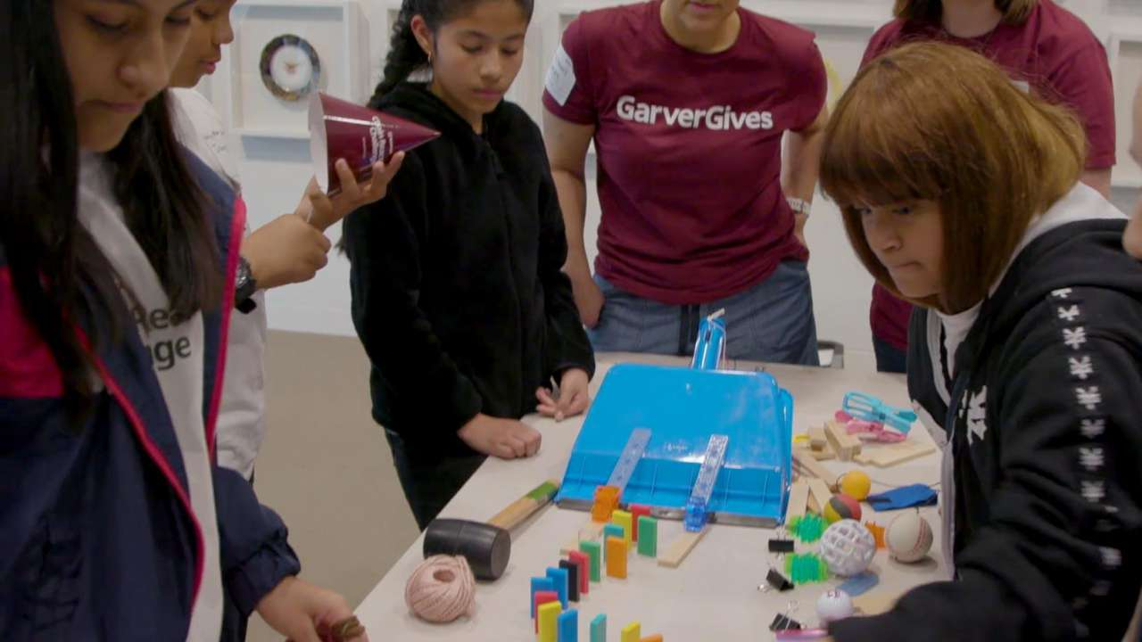 Dallas ISD joins Garver for the Chain Reaction Challenge