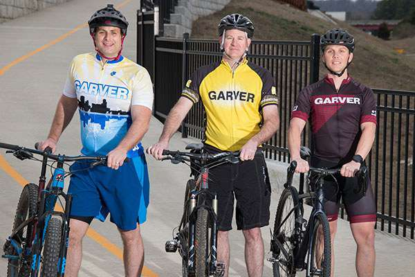 Garver, City of Fayetteville equal in support for cycling