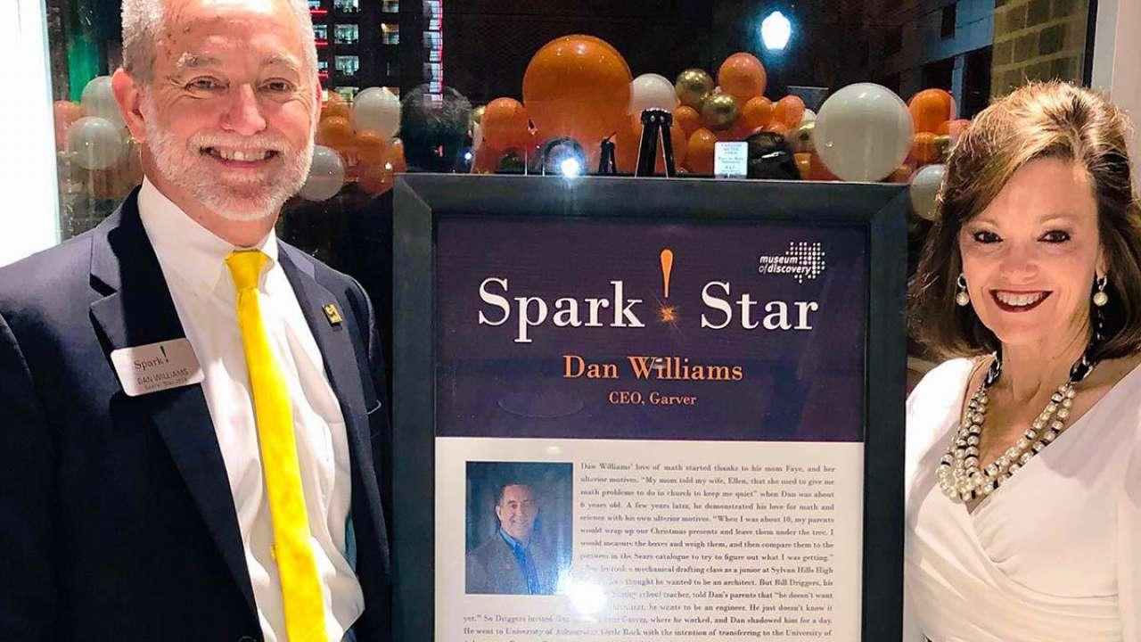 Williams named Spark! Star for STEM support
