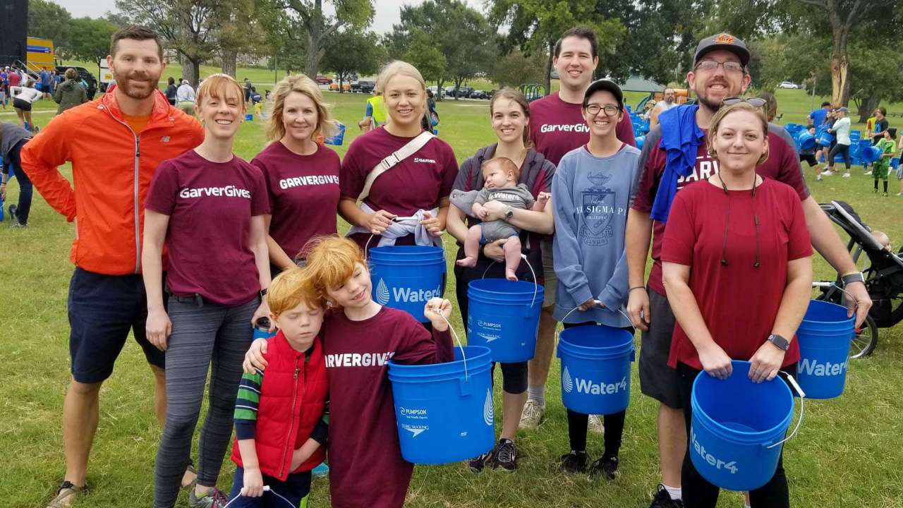 Garver aids inaugural Walk4Water event in Oklahoma City