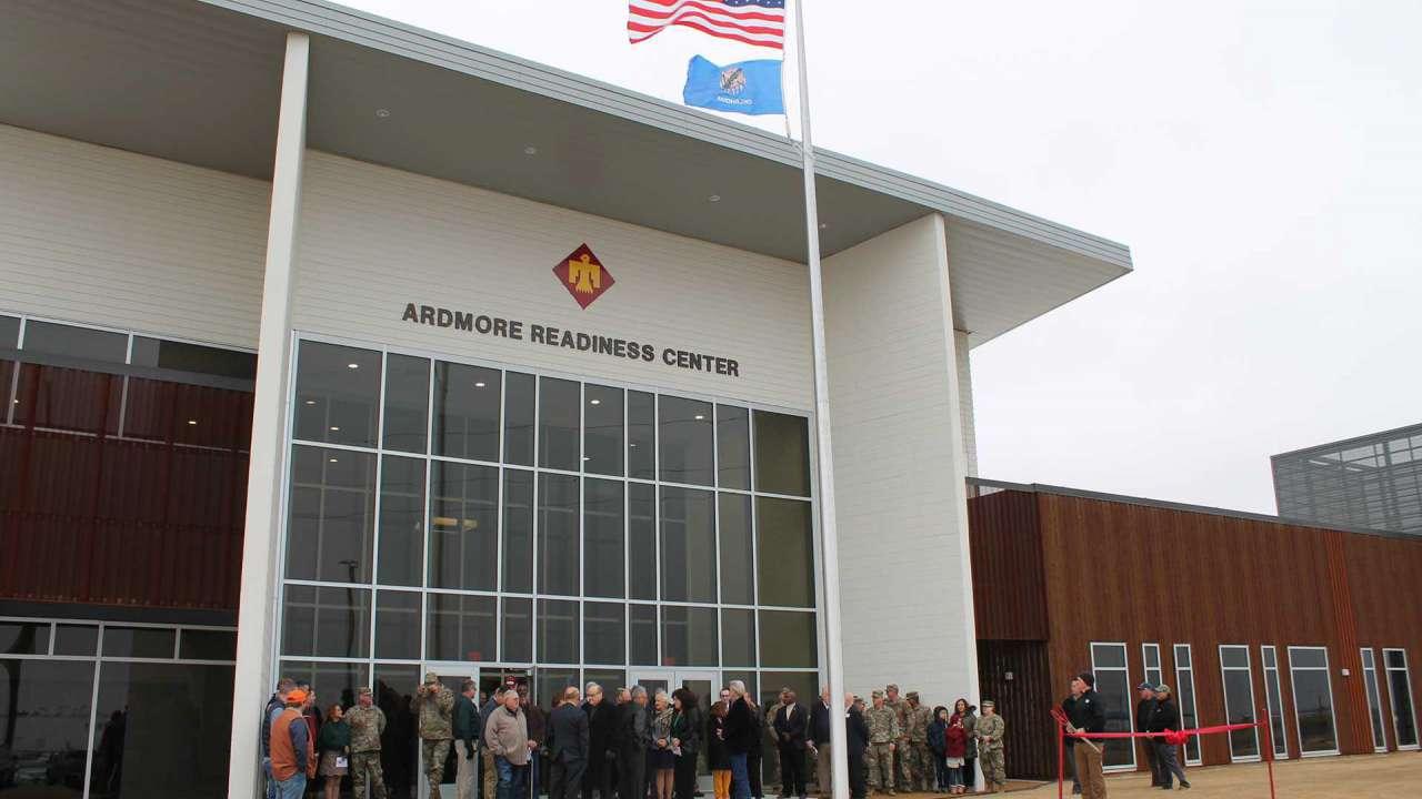 DBIA recognizes Ardmore Readiness Center