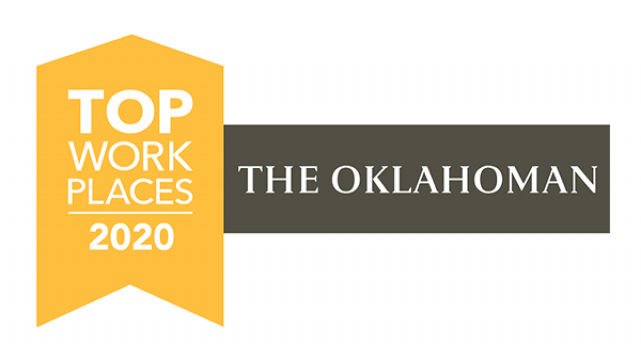 Garver named a 2020 Top Workplace by The Oklahoman