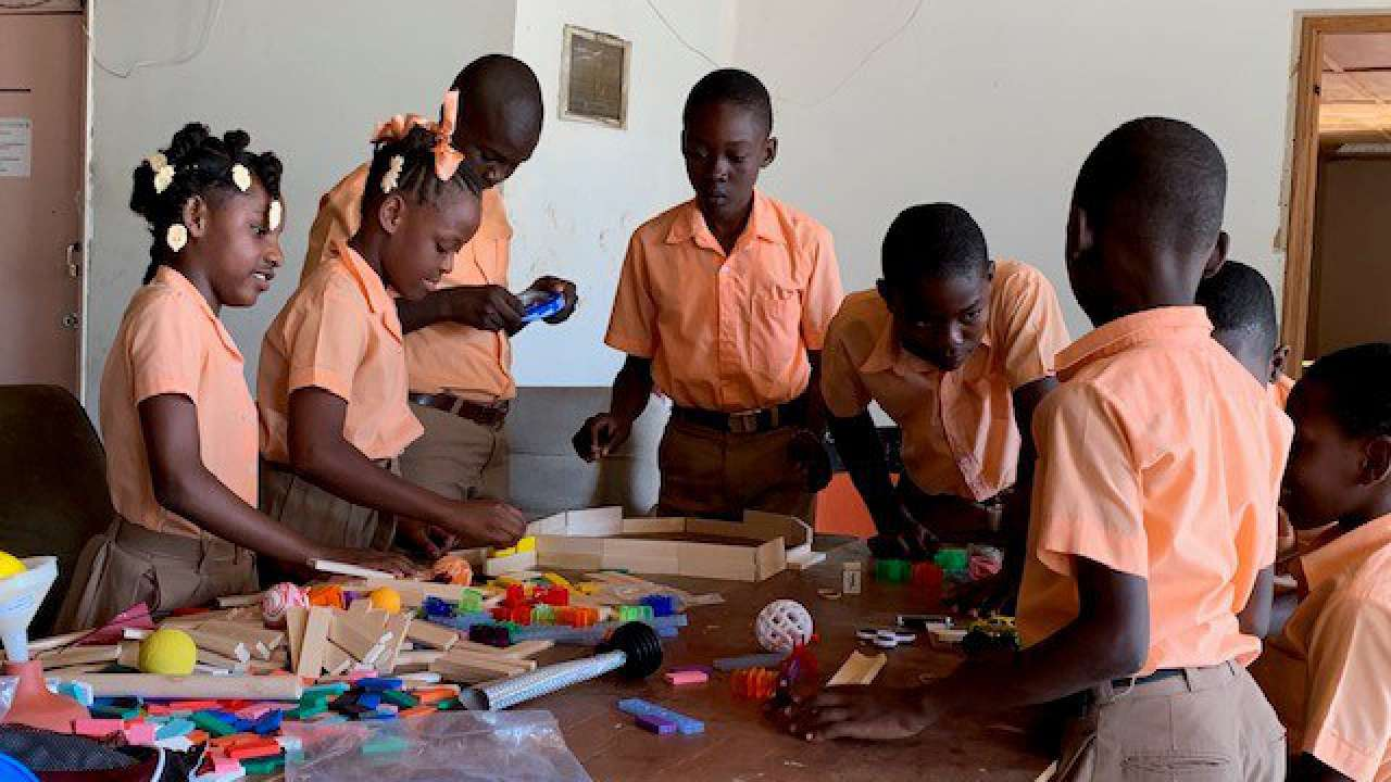 Garver STEM kits aid schools abroad
