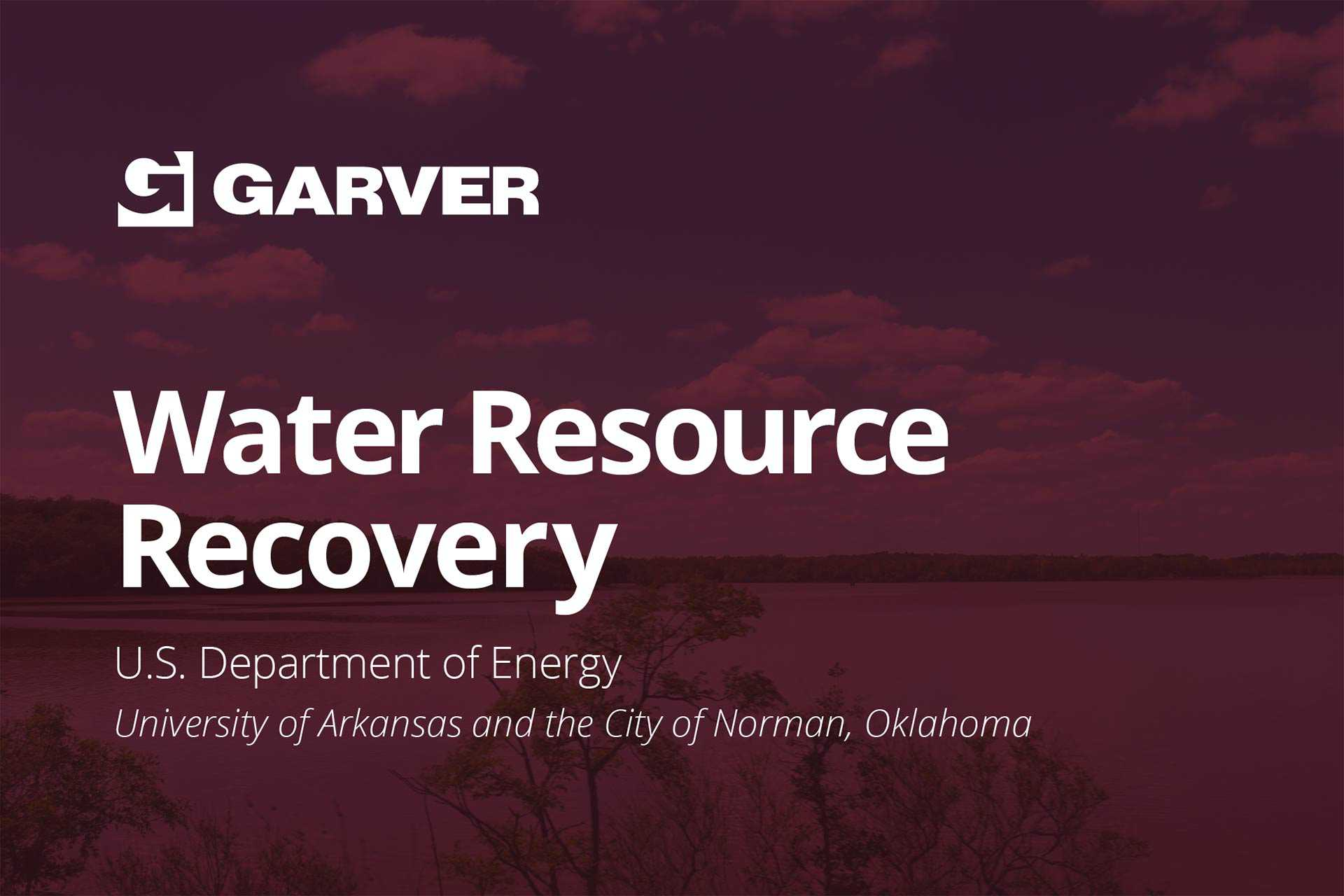 U.S. DOE selects research project for Water Resource Recovery Prize