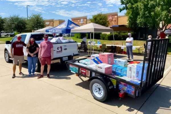 Garver aids Hurricane Laura relief efforts