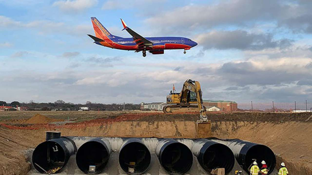 Griffin talks aviation infrastructure spending with ENR Texas & Louisiana