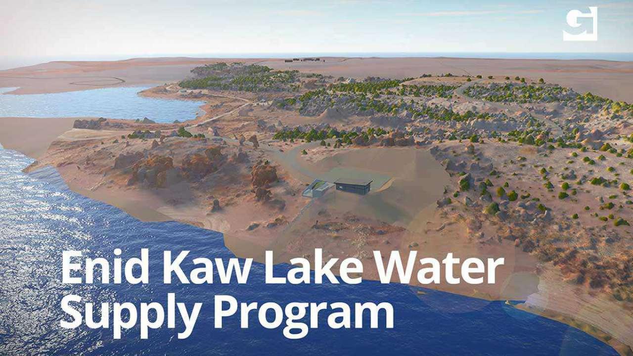 Enid Kaw Lake Water Supply Program passes major milestone