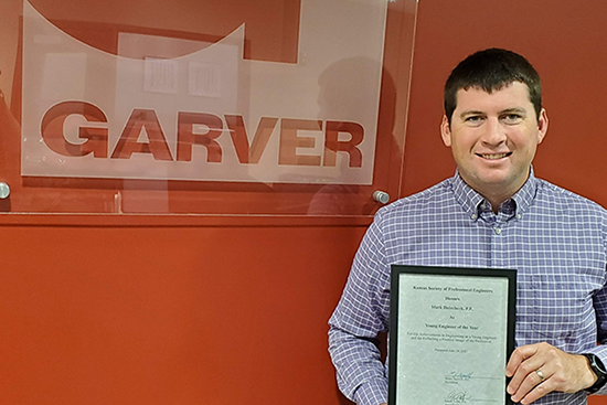 Dolechek named KSPE Young Engineer of the Year