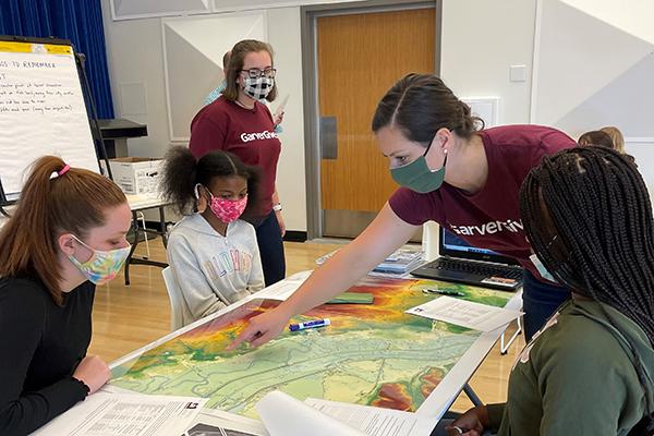 Garver employees mentor girls in STEM