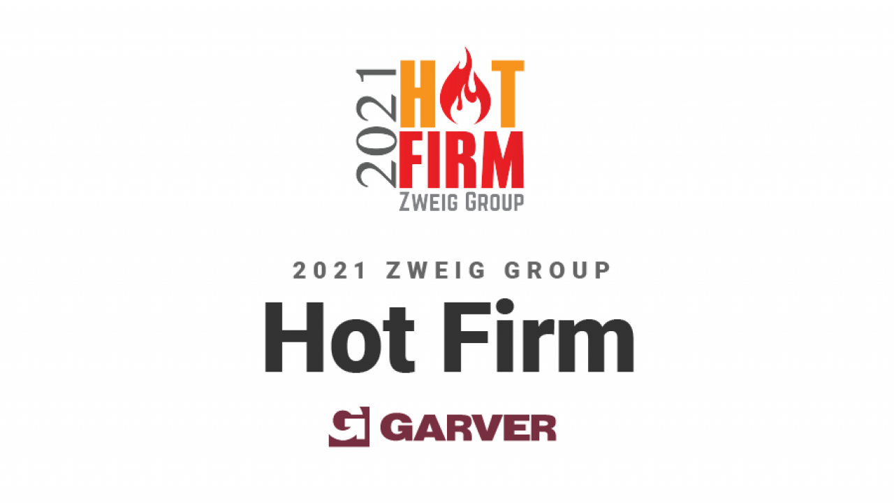 Garver named to Zweig Group's Hot Firm List for 11th straight year