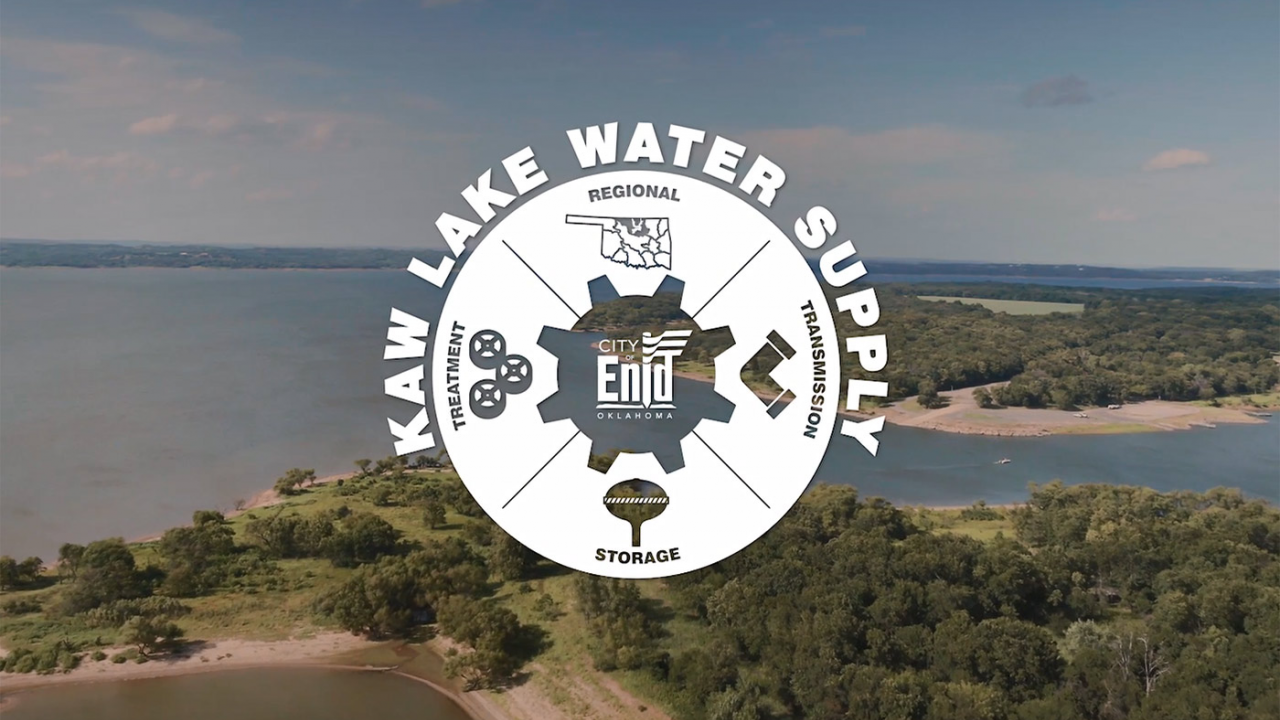 Enid Kaw Lake Water Supply Program ready for construction