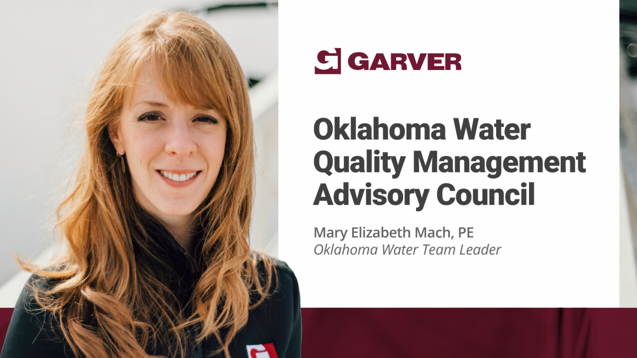 Mach reappointed to Oklahoma Water Quality Management Advisory Council