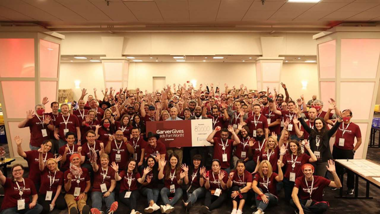 Garver employees prepare 170,000 meals for their communities