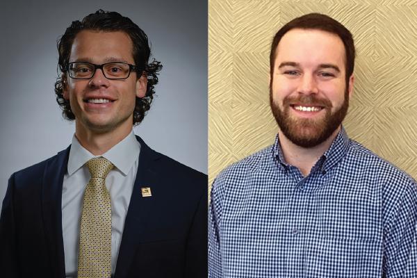 Durden, Maestri, selected by ACEC Arkansas as emerging leaders