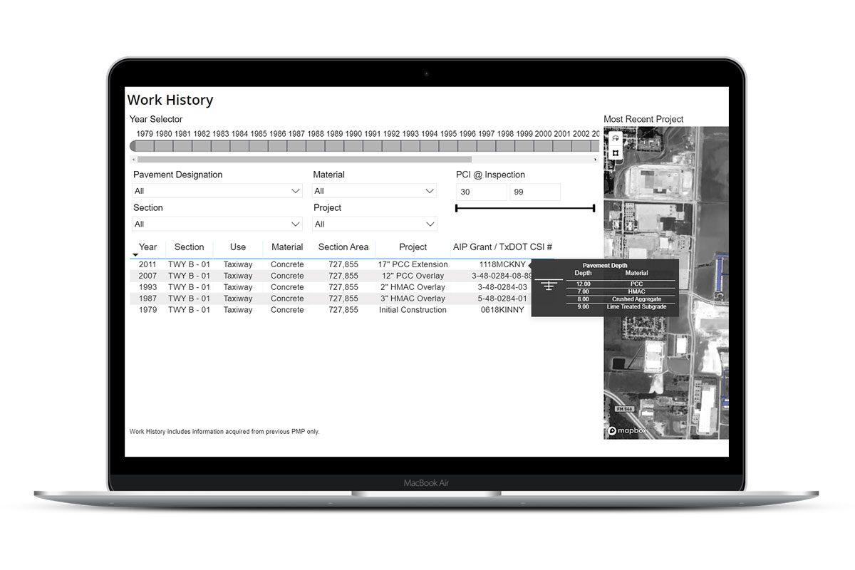 Work History Database