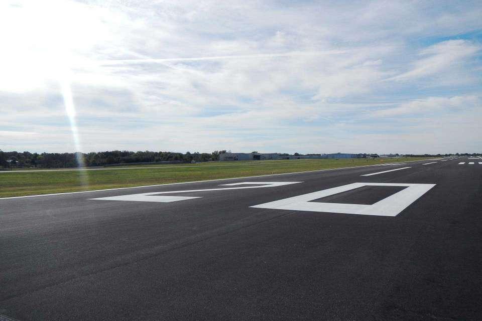 Rogers Executive Airport Runway Rehabilitation 2