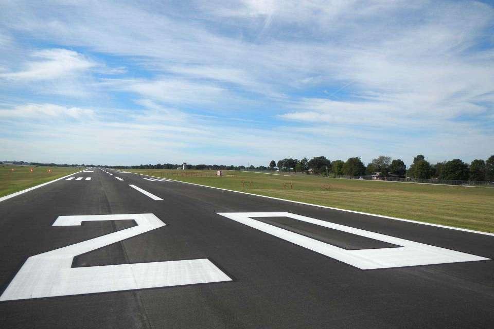 Rogers Executive Airport Runway Rehabilitation 3