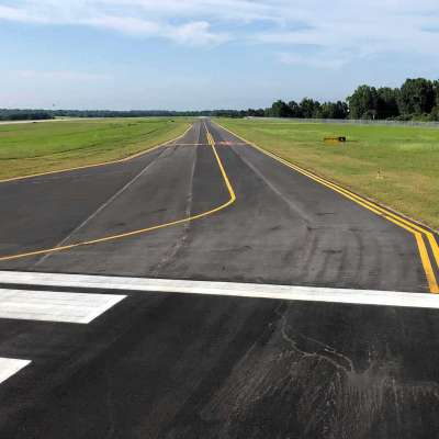 AUO Taxiway Alpha North Relocation