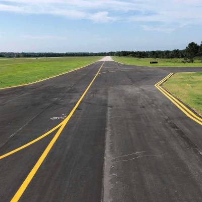 AUO Auburn University Regional Airport Taxiway Alpha North Relocation 4