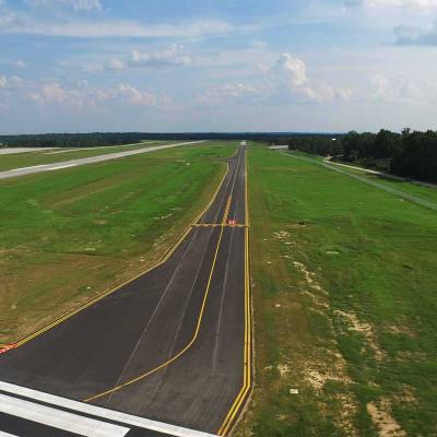 AUO Auburn University Regional Airport Taxiway Alpha North Relocation 6