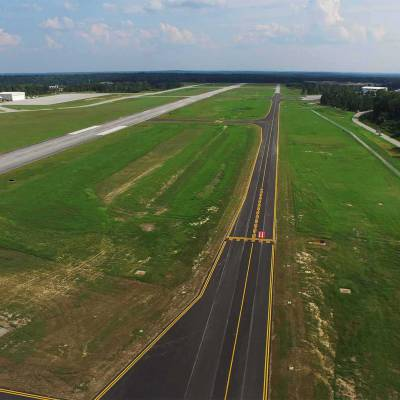 AUO Auburn University Regional Airport Taxiway Alpha North Relocation 7