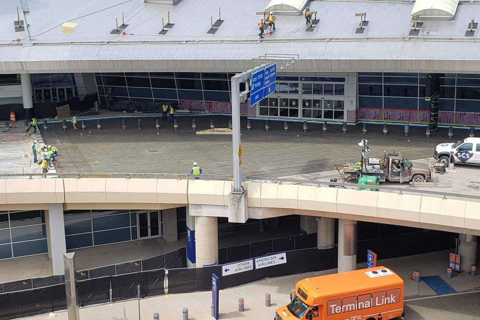 DFW Terminal D Improvements 1