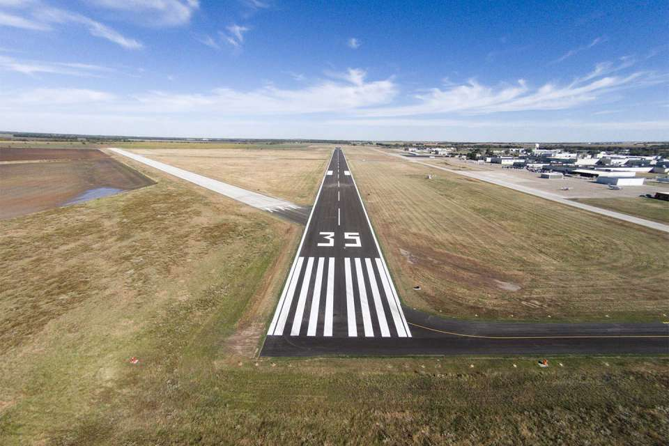 Strother Field Runway 17 35 1