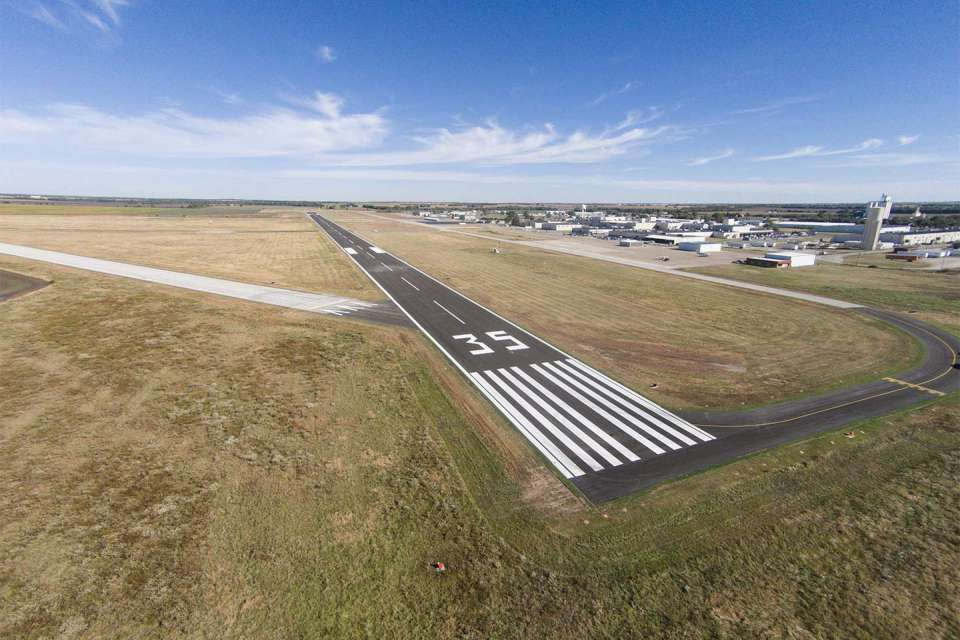 Strother Field Runway 17 35 2