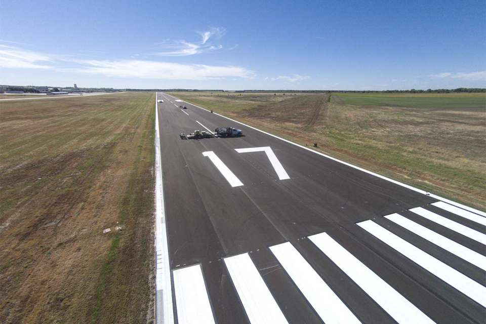 Strother Field Runway 17 35 3