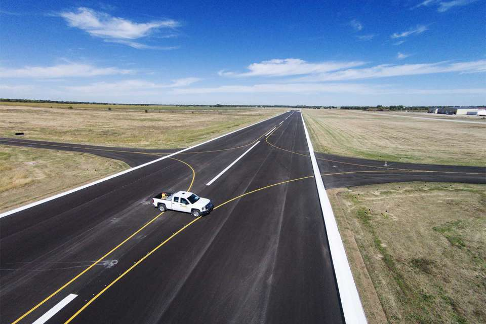 Strother Field Runway 17 35 4