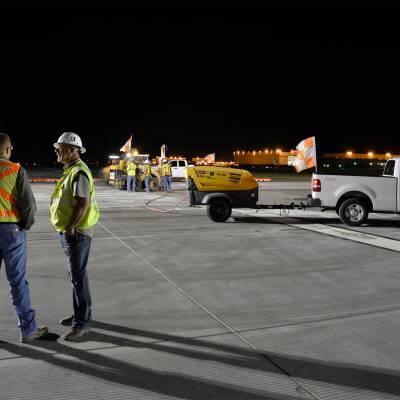 Tulsa International - Repaving Runway 36R