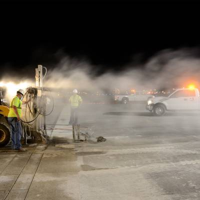 Tulsa International - Repaving Runway 36R