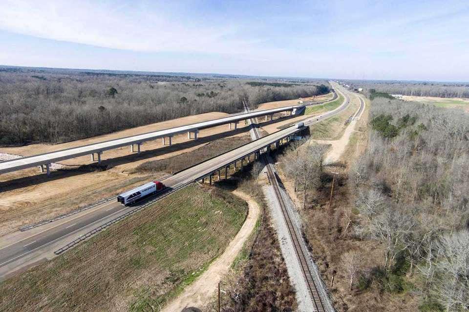 Interstate 20 Eastbound Lanes Photo1