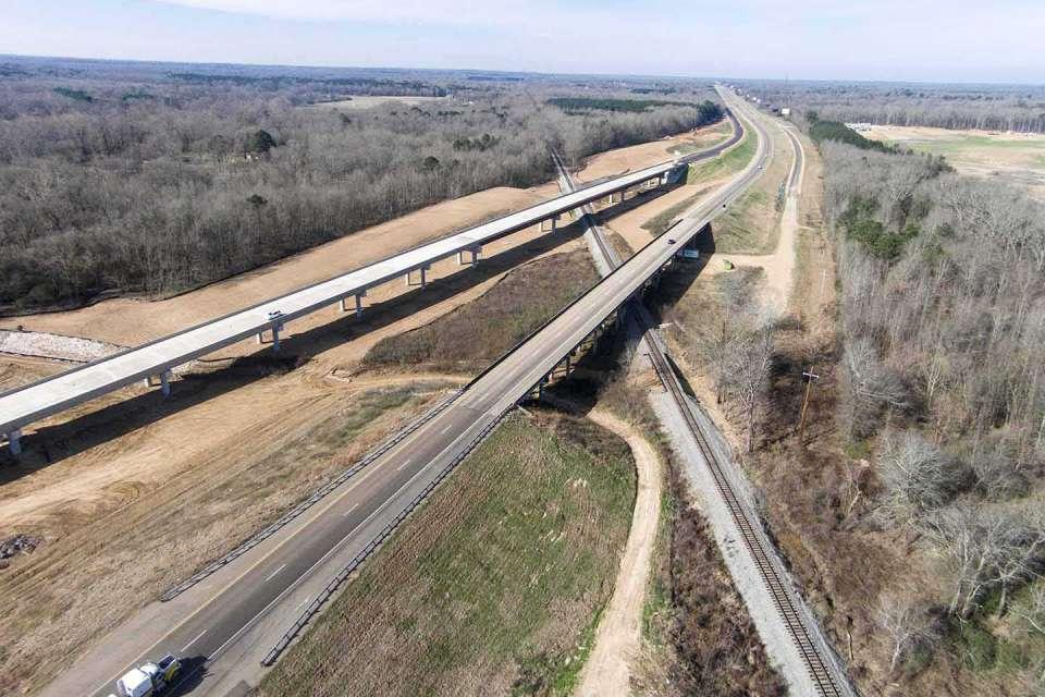 Interstate 20 Eastbound Lanes Photo4