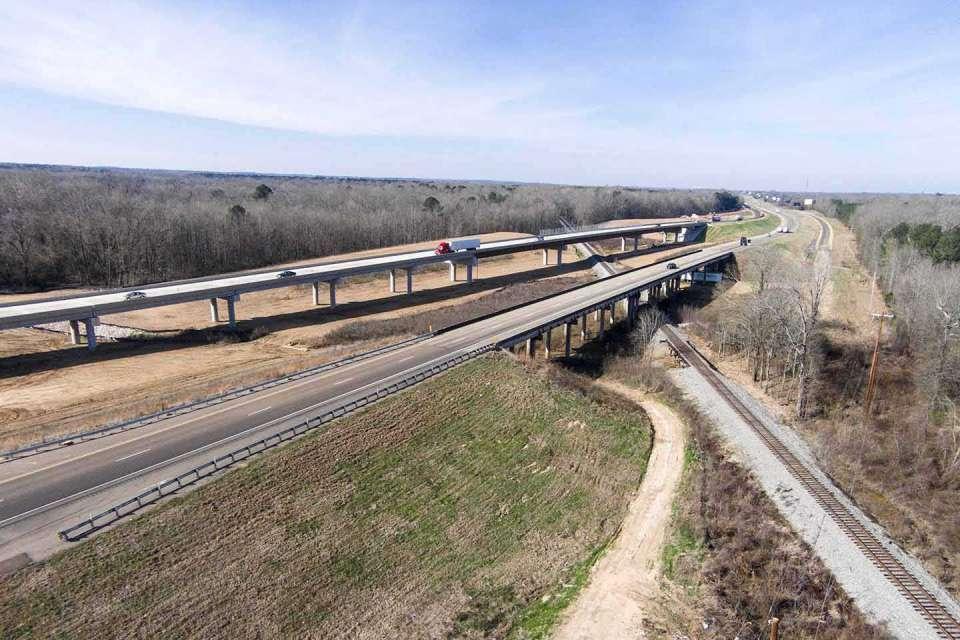 Interstate 20 Eastbound Lanes Photo5