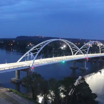 Broadway Bridge Over The Arkansas River 2