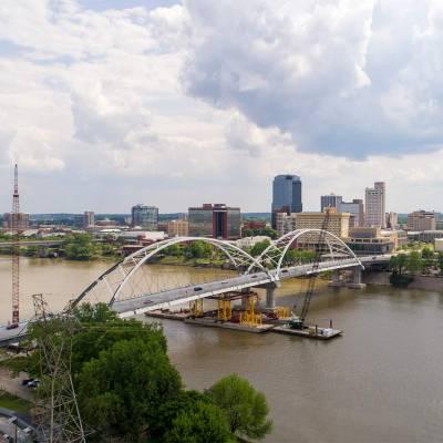 Broadway Bridge Over The Arkansas River 3